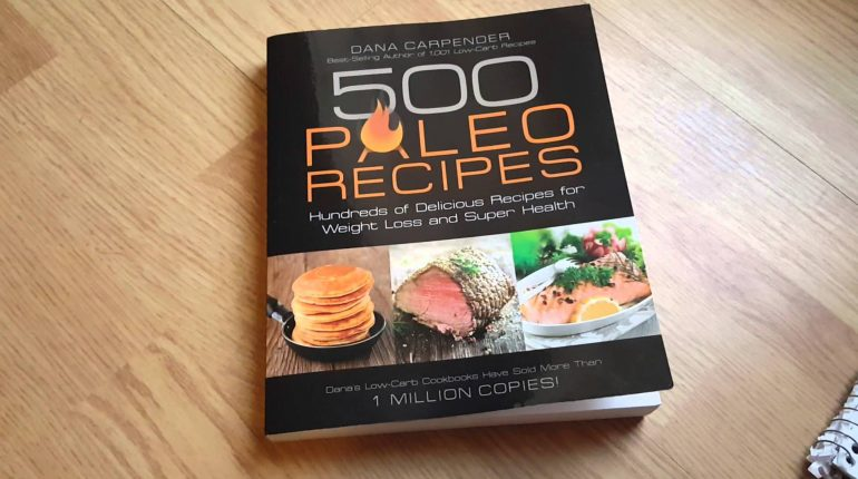 500 Paleo Recipes Cook Book Review Paleo Diet Dana Carpender