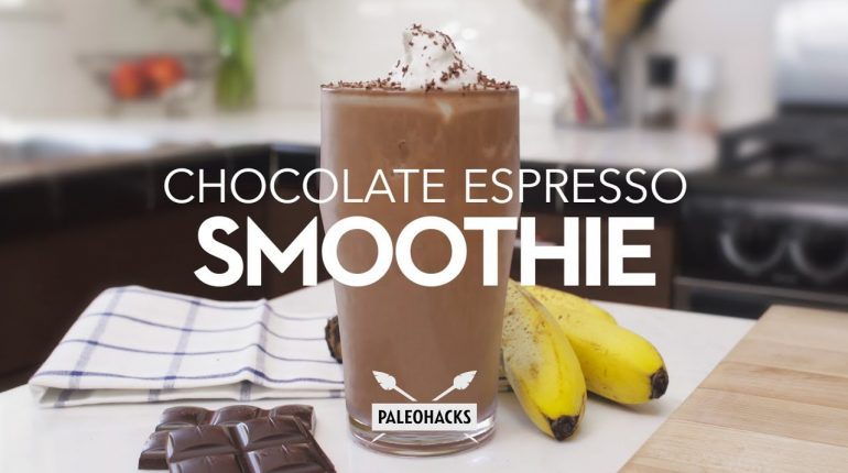 Chocolate Espresso Smoothie | Paleo Recipe