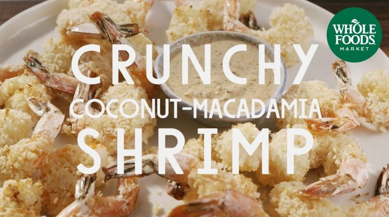 Paleo Crunchy Coconut-Macadamia Shrimp | Special Diet Recipes | Whole Foods Market