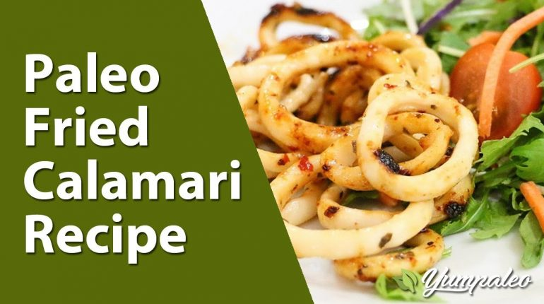 Paleo Fried Calamari Recipe