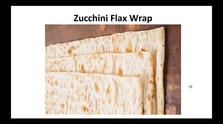Paleo Recipes - Zucchini Flax Wrap By A Former Diabetic