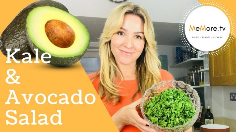 THE BEST Kale & Avocado Salad // Plant Based Food // Paleo Recipe // MeMore