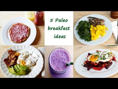 5 Paleo Breakfast ideas
