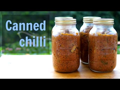 Canned chilli recipe | Paleo recipe