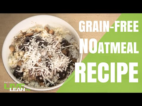 Freakishly Delicious Cherry NOatmeal Paleo Recipe (NO OATS)