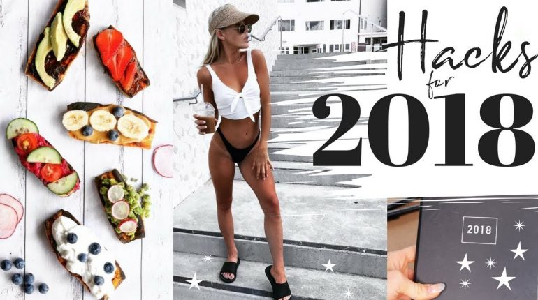 HOW TO MAKE 2018 YOUR BEST YEAR YET + VEGAN ○ DF ○ PALEO recipes