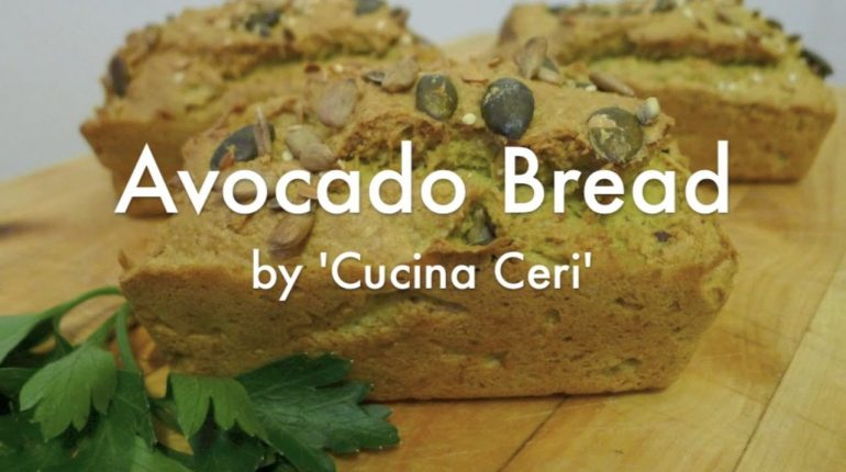 How To Bake Bread (Paleo Recipe) - Avocado Bread by 'Cucina Ceri'