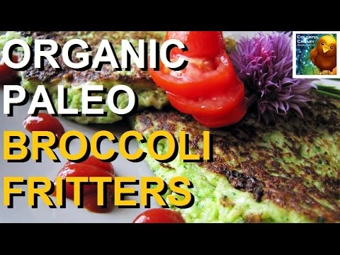 Paleo Broccoli Fritters Recipe