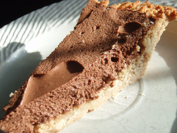 Paleo Chocolate Pudding Pie Recipe
