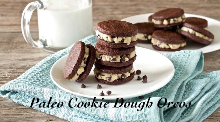 Paleo Cookie Dough Oreos Recipe | Living Healthy With Chocolate