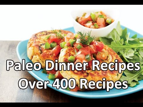 Paleo Dinner Recipes - Best paleo diet recipes book