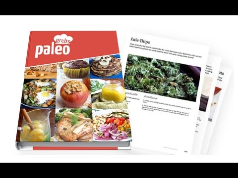 Paleo Grubs Book 470+ Paleo Recipes | Paleo Grubs Book Review