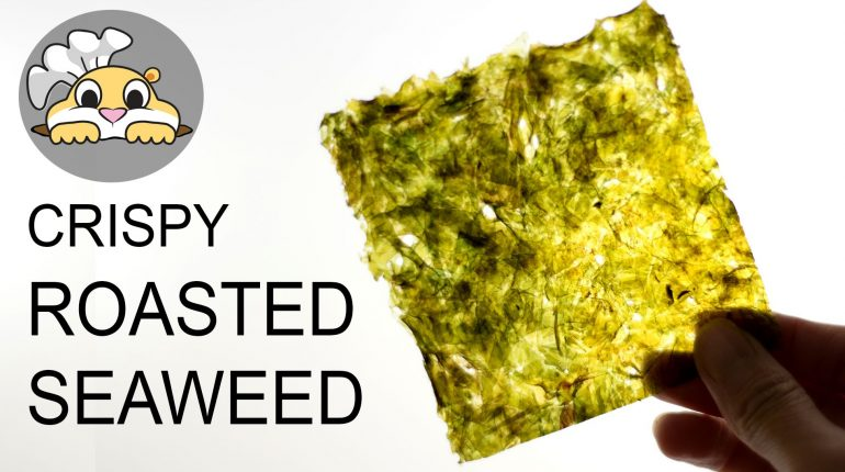 Paleo Recipes | Crispy Korean Roasted Seaweed (바삭한 김구이)