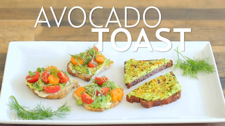 Paleo and Vegan Avocado Toast Recipes! | #BeWellbyKelly