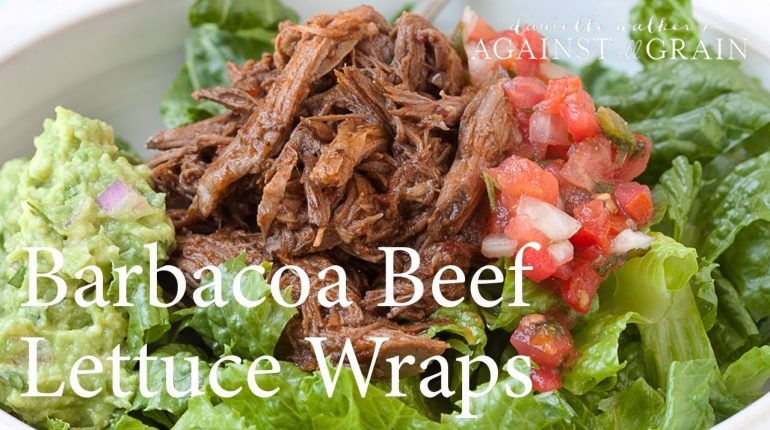 Recipe: Paleo Barbacoa Beef Lettuce Wraps | Danielle Walker