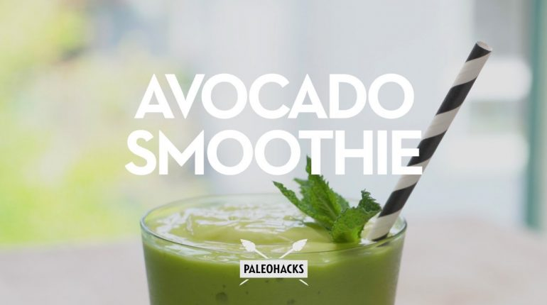 Avocado Smoothie | Paleo Recipe