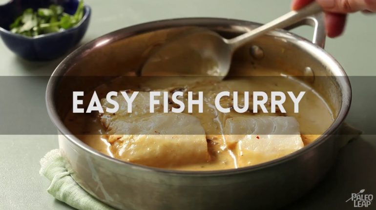 Easy Paleo Fish Curry