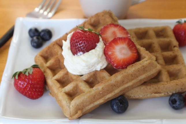 Easy Paleo Waffles Recipe Video - Paleo with Becky