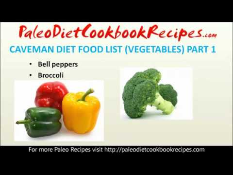 Paleo Diet Food List (Vegetables Part 1)