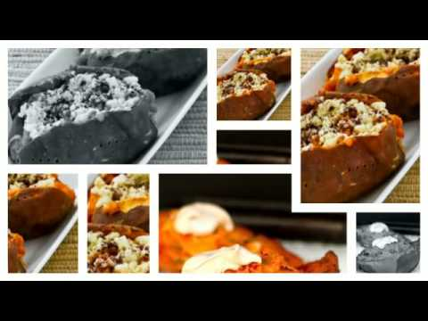 Paleo Recipe Baked Sweet Potatoes