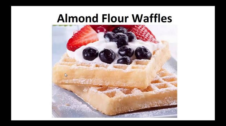 Paleo Recipes - Almond Flour Waffles By A Former Diabetic