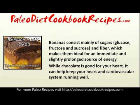Paleo Recipes   Banana Chocolate Cake