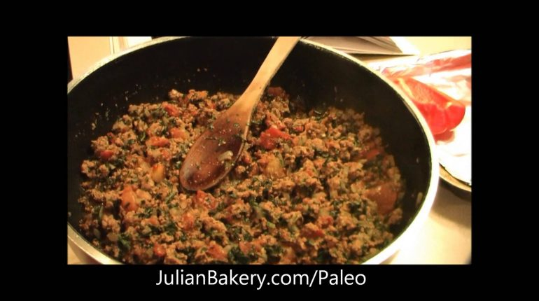 Paleo Spicy Italian Stuffed Pepper Recipe