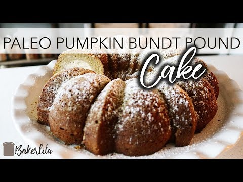 KETO! PUMPKIN Bundt Pound Cake | Paleo | Primal | LOW CARB
