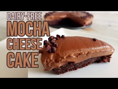 Mocha Cacao Cheesecake Recipe - Dairy Free and Paleo