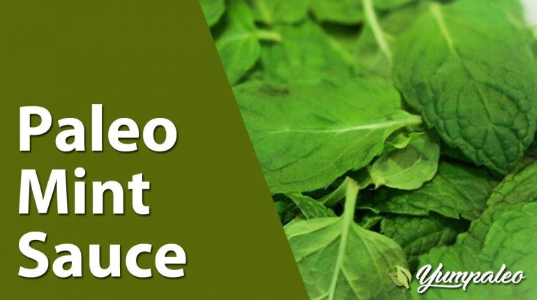 Paleo Mint Sauce Recipe