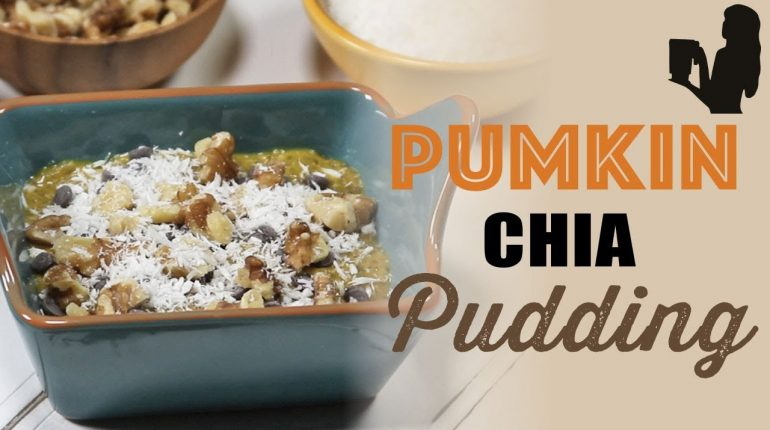 Pumpkin Chia Pudding Paleo Paleo Holiday Treat by Blender Babes
