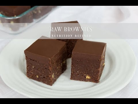 Raw Brownies | Vegan, Paleo