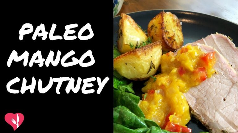 Super Easy Paleo Mango Chutney Recipe | The Hungry Health Coach Episode 55