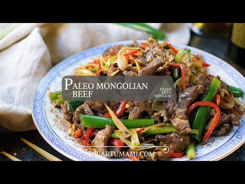 Paleo Mongolian Beef | Whole30 Keto recipes | 葱爆牛肉