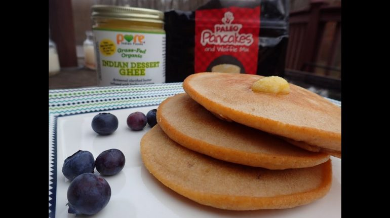 Paleo Pancakes Made With Indian Dessert Ghee: Whole30 Approved Recipe