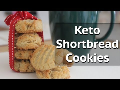 Shortbread Cookies | Keto & Paleo Friendly | Low-Carb & Gluten Free