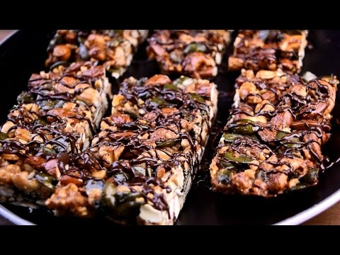 Paleo Energy Nut Bars - The perfect recipe