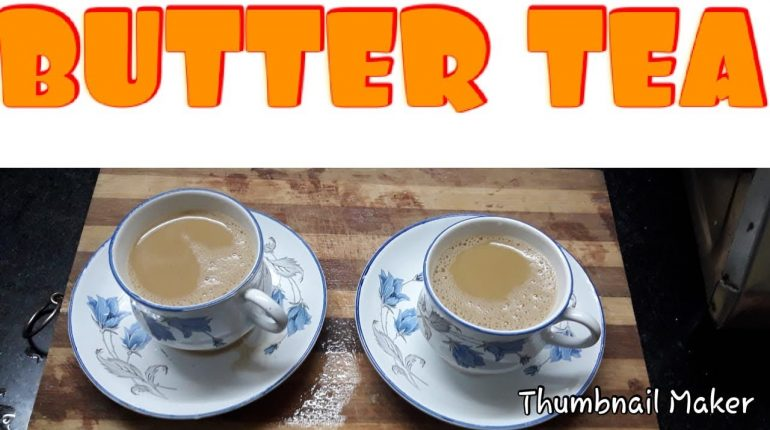 Butter Tea from Paleo Kitchen /in Tamil/ Tea Recipe