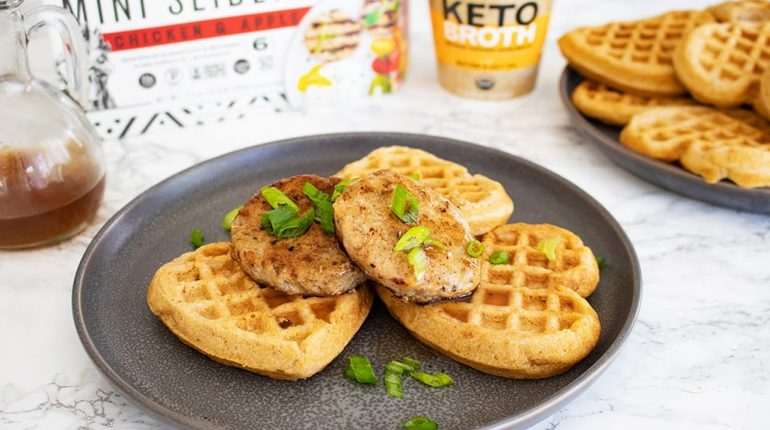 Easy Paleo Chicken & Waffles Recipe