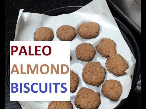 Homemade Biscuit(Almond) Recipe from Paleo Kitchen /in tamil/ Paleo Biscuits/ Paleo Snacks