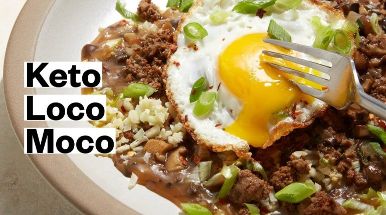 KETO Loco Moco Recipe (Whole30, Paleo)| Thrive Market