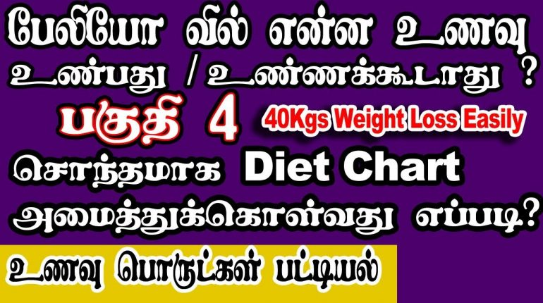 Paleo Diet Tamil EP 4 Own Diet Chart Prepare / what is Paleo food Items and Meal Plans
