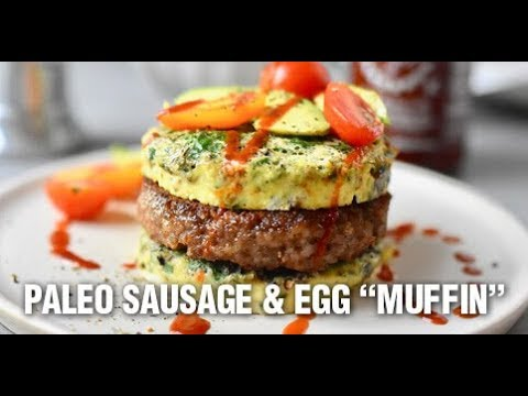 "Paleo Sausage & Egg ""Muffin"" Recipe by Swaggerty's Farm®"
