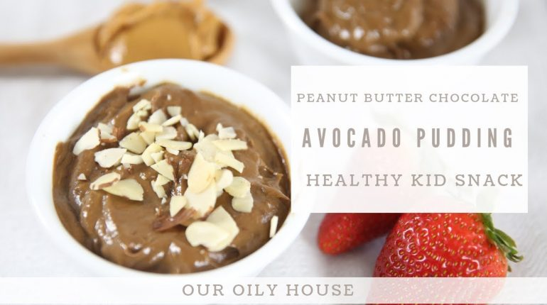 Peanut Butter Chocolate Avocado Pudding | Paleo Cake Frosting