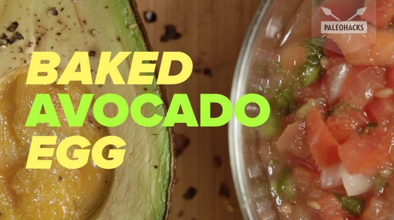 The Perfect Baked Avocado Egg | Paleo Recipe