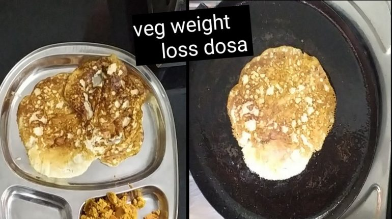 30 days weight loss challenge day 26, veg keto dosa, veg paleo dinner recipe, weight loss recipe