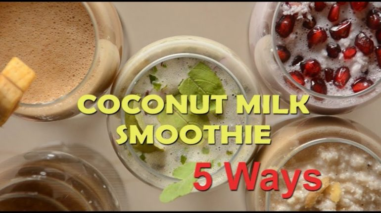 Coconut Milk Smoothie - Paleo/Keto/Low Carb | Coconut Smoothie recipes