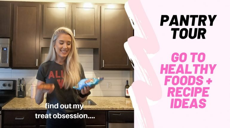DO I REALLY EAT THAT HEALTHY? PANTRY TOUR + HEALTHY RECIPE IDEAS (Paleo, Vegan, Gluten Free)