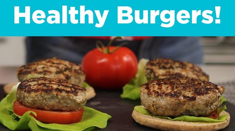 Juiciest-Ever Turkey Burgers!  WW 0 Points, Keto, and Paleo Friendly!!!