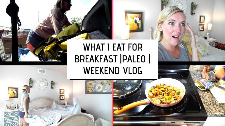 PALEO BREAKFAST | WEEKEND VLOG | FIRST FOOTBALL GAME 2019